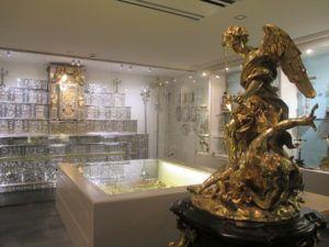 Museo carmelitano. Orfebrería.