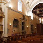Antigua Capilla y Nave de la Iglesia desde el Presbítero en Carmelitas Descalzas, Alba de Tormes