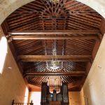 Armadura Ochavada de la Nave Mayor y Coro Decimonónico a los pies en Carmelitas Descalzas, Alba de Tormes