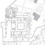 Planta General de Edificios Conventuales - Planta Alta en Carmelitas Descalzas, Alba de Tormes