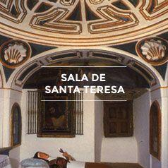 Sala de Santa Teresa de Carmelitas Descalzas, Sepulcro de Santa Teresa