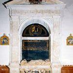Sepulcro Mural en Carmelitas Descalzas, Sepulcro de Santa Teresa