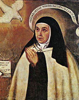 Vero retrato de Santa Teresa en Carmelitas Descalzas, Sepulcro de Santa Teresa
