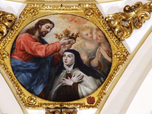 Cristo Coronando a Santa Teresa