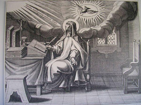 Vida de Santa Teresa en Carmelitas Descalzas, Sepulcro de Santa Teresa