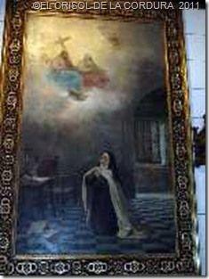 Teresa de Ávila en Carmelitas Descalzas, Sepulcro de Santa Teresa