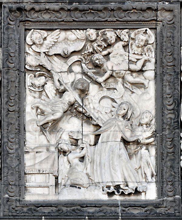 Transverberación de Santa Teresa en Carmelitas Descalzas, Alba de Tormes