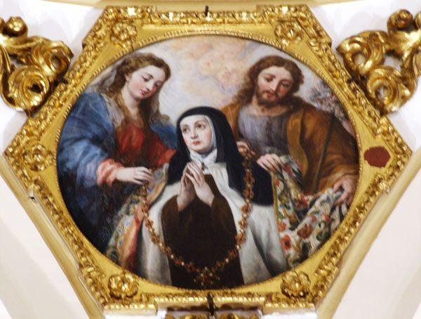 Entrega del Collar a Santa Teresa