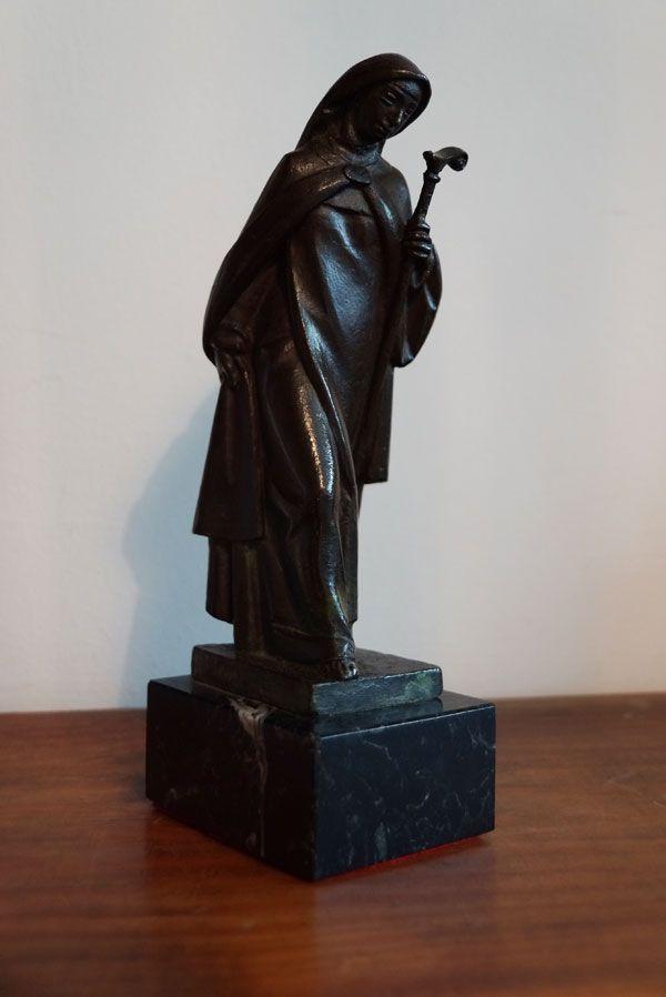 Estatuilla IV Centenario muerte Santa Teresa