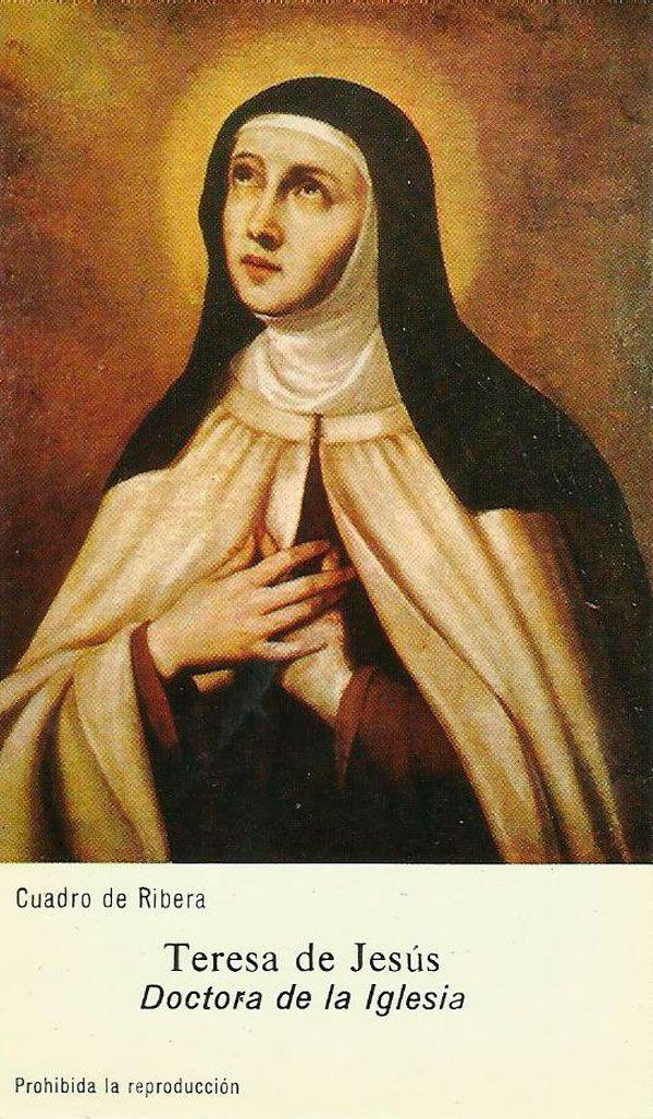 Estampa de Devoción en Carmelitas Descalzas, Alba de Tormes
