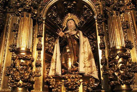 Camarín del Convento de las Carmelitas en Carmelitas Descalzas, Alba de Tormes