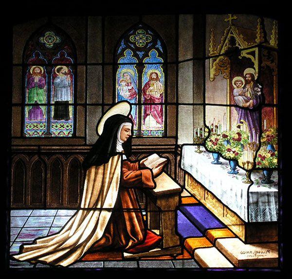 Vidriera Iglesia Carmelitas