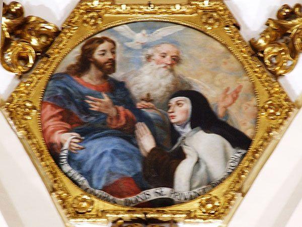 Santa Teresa ante la Trinidad