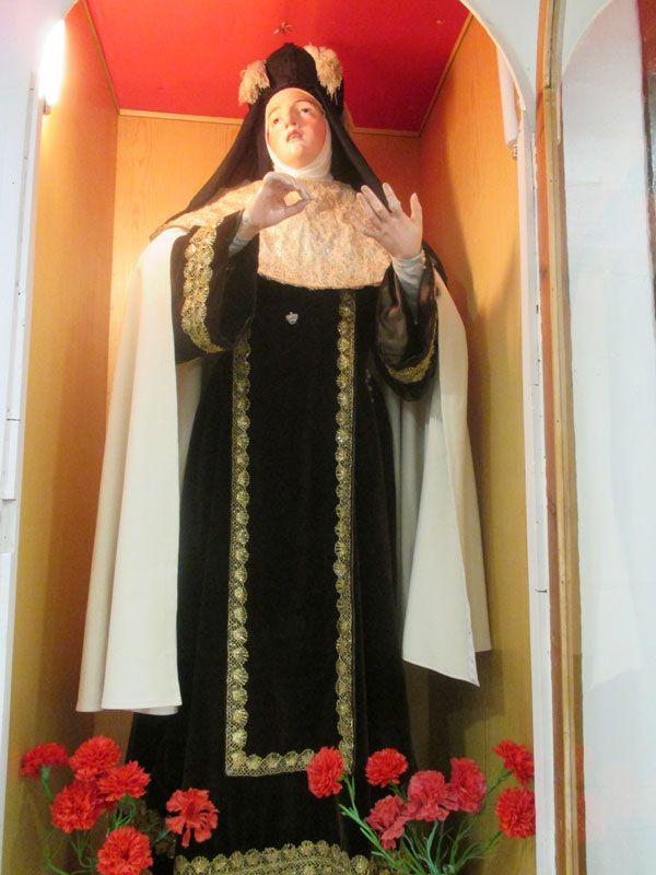 Santa Teresa. Imagen procesional