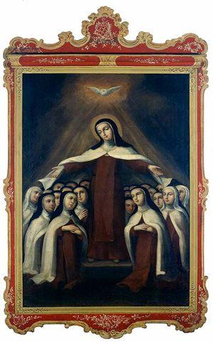 Santa Teresa de Jesús en Carmelitas Descalzas, Alba de Tormes