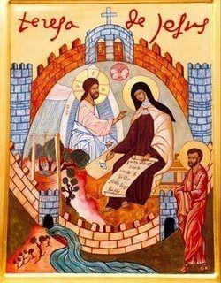 V Centenario del Nacimiento de Santa Teresa de Jesús. Icono de las Moradas en Carmelitas Descalzas, Alba de Tormes