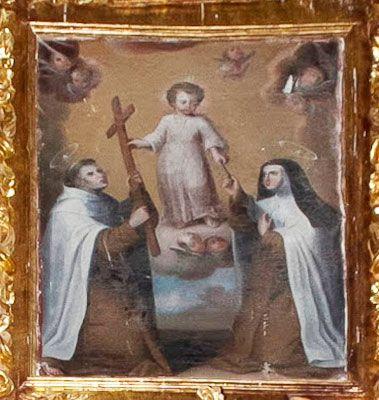 Santa Teresa y San Juan de la Cruz (Capilla lateral)