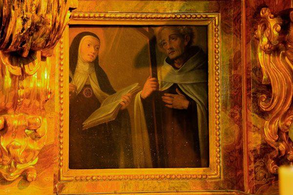 Santa Teresa y San Juan de la Cruz