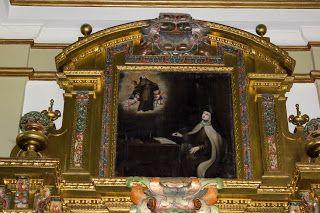 Visión de Santa Teresa (altar lateral derecho)