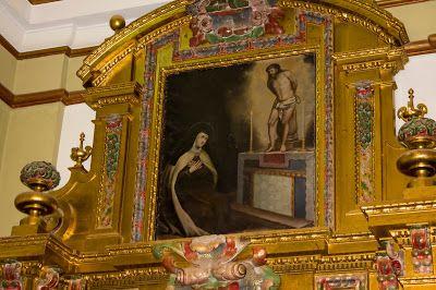 Cristo junto a Santa Teresa (altar lateral izquierdo)