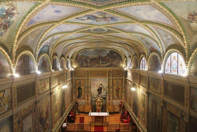Capilla de Santa Teresa en Carmelitas Descalzas, Sepulcro de Santa Teresa