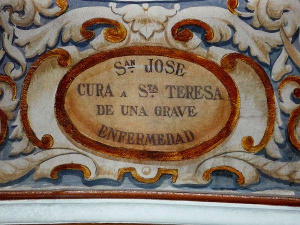 Vida de Santa Teresa de Ávila en Carmelitas Descalzas, Sepulcro de Santa Teresa