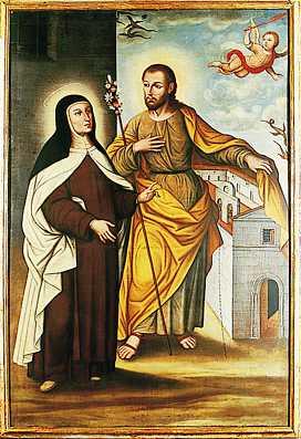 Santa teresa y San José