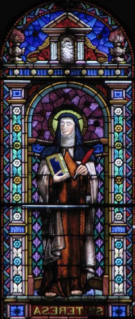 Vidrieras Santa Teresa Escritora