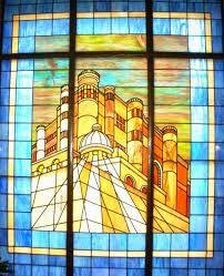 La puerta del Castillo Interior en Carmelitas Descalzas, Sepulcro de Santa Teresa