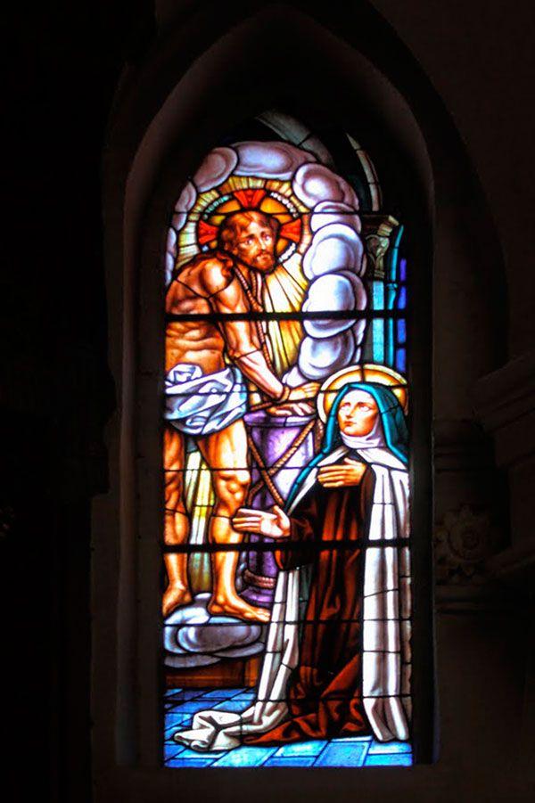 Aparición de Cristo a Santa Teresa