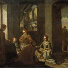 Educación de Santa Teresa en Carmelitas Descalzas, Alba de Tormes