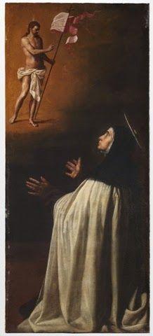 Aparición de Cristo crucificado a Santa Teresa de Jesús