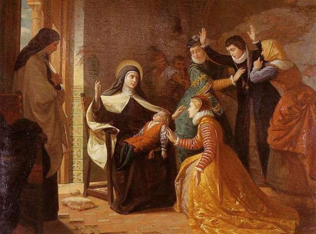 El Primer Milagro de Santa Teresa de Jesús