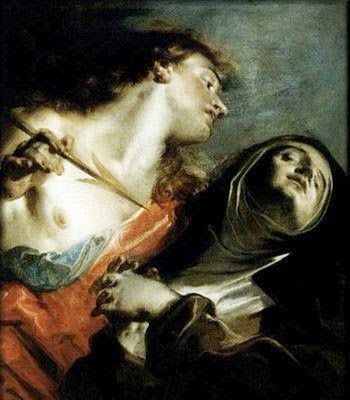 Transverberación de Santa Teresa de Tiepolo