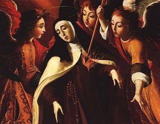 Transverberación de Santa Teresa de Ávila en Carmelitas Descalzas, Alba de Tormes
