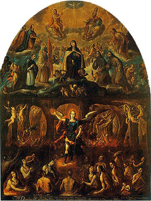 Gloria de Santa Teresa sobre el purgatorio y el infierno