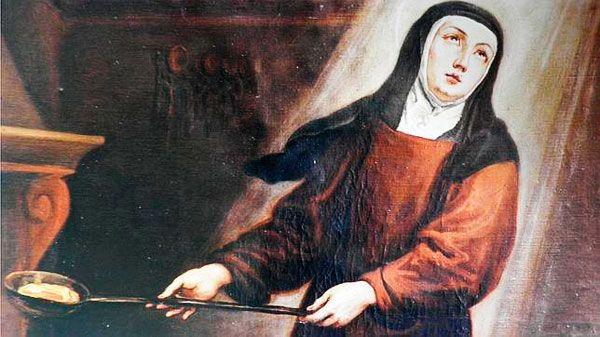 """""""La Santa en la cocina"""" en Carmelitas Descalzas, Alba de Tomes"""