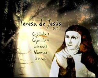 Series de Televisión Española sobre Santa Teresa de Jesús en Carmelitas descalzas. Sepulcro de Santa Teresa