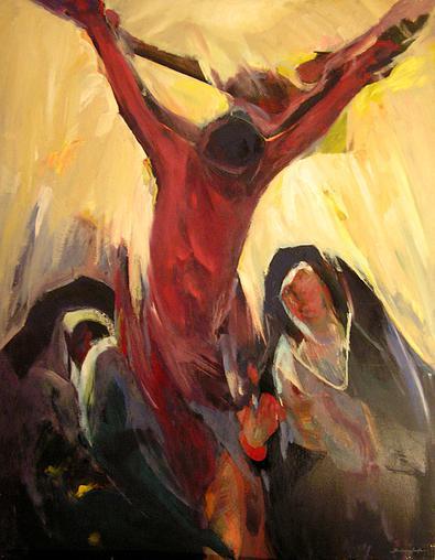 Visión de Santa Teresa en Carmelitas Descalzas, Alba de Tormes