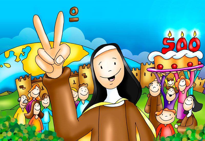 Dibujo Santa Teresa