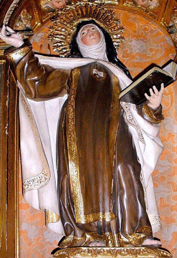 Santa Teresa en Carmelitas Descalzas, Sepulcro de Santa Teresa