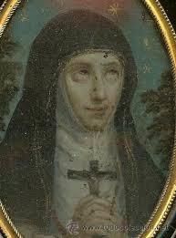 Pintura Relicario Santa Teresa de Jesús