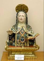 Busto-relicario de Santa Teresa de Jesús