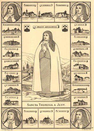 Las Fundaciones. Santa Teresa de Jesús en Carmelitas Descalzas, Alba de Tormes