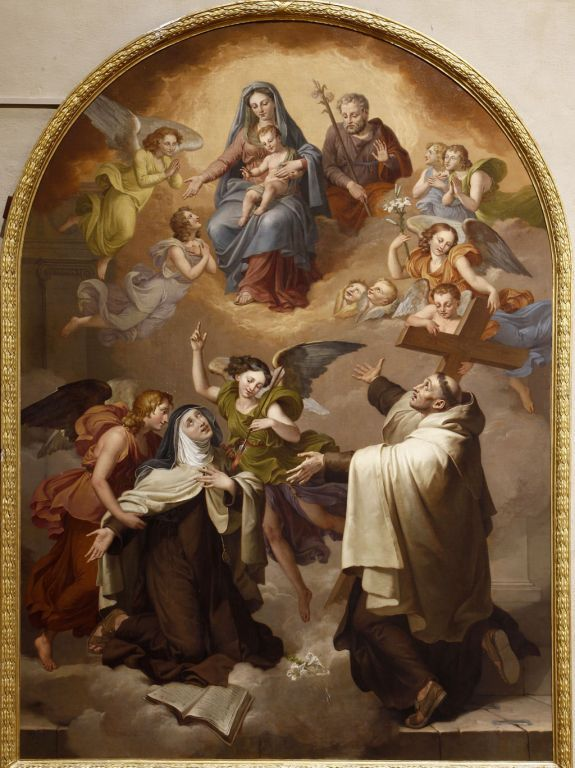 La Transverberación de Santa Teresa en Carmelitas Descalzas, Sepulcro de Santa Teresa