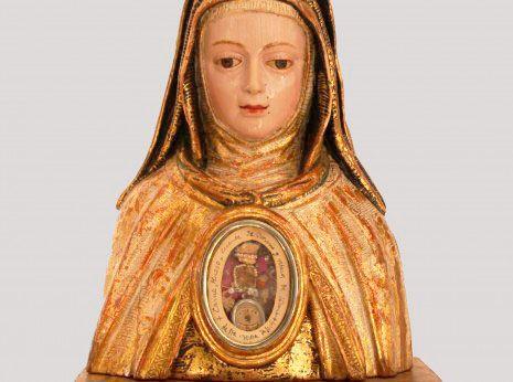 Busto-relicario Santa Teresa