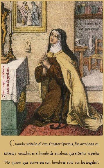 Santa Teresa experiencias míticas en Carmelitas Descalzas, Alba de Tormes