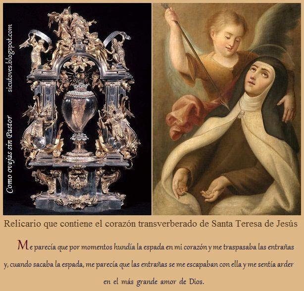 Santa Teresa, La Transverberación en Carmelitas Descalzas, Alba de Tormes