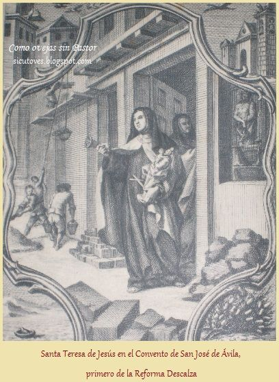 Santa Teresa y Las Fundaciones en Carmelitas Descalzas, Sepulcro de Santa Teresa