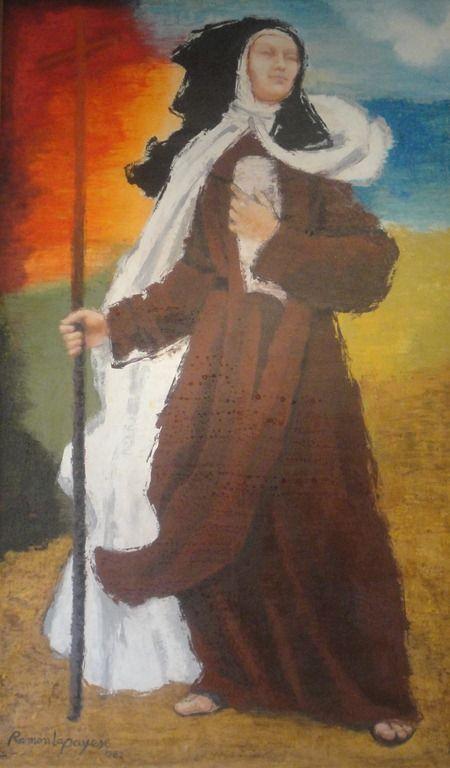 Santa Teresa caminando